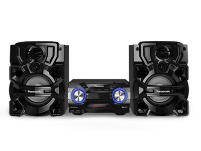 Panasonic- CD Stereo System with Ultra Powerful Bass SCAKX640K