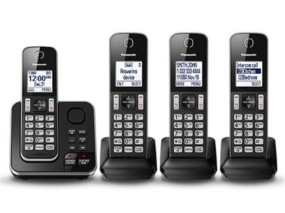 Panasonic Digital Cordless Answering System - KX-TGD394B