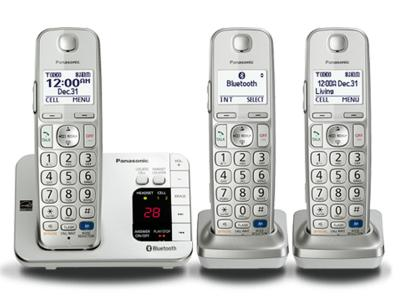 Panasonic Bluetooth Compatible System - KX-TGE263S