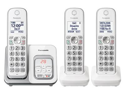 Panasonic Convenience for Everyone - KX-TGD593W