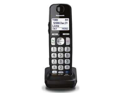 Panasonic Optional digital cordless handset for KX-TGE24X and KX-TGE26X series KX-TGEA20B