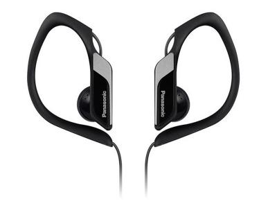 Panasonic Water-Resistant Sports Clip Earbuds -RPHS34MK
