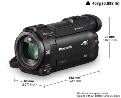 Panasonic All Your Videos in Stunning 4K - HCWXF991K