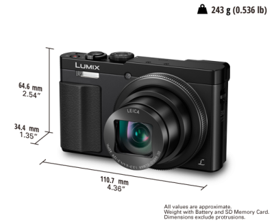 Panasonic Travel broadens your mind, ZS50 captures the details - DMCZS50S