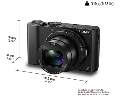 Panasonic An Extremely Fast Lens in a Palm-Sized Body - DMCLX10K