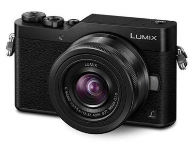 Panasonic DSLM camera featuring 4K Photo selfie mode, Wi-Fi connectivity and 12-32 mm lens DCGX850KK