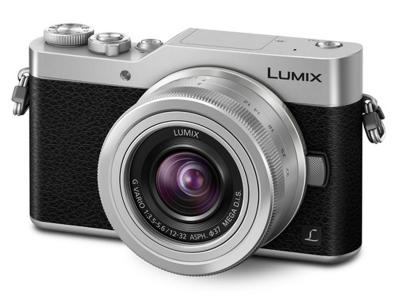 Panasonic DSLM camera featuring 4K Photo selfie mode, Wi-Fi connectivity and 12-32 mm lens DCGX850KS
