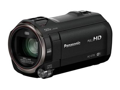 Panasonic Save Every Scene - HCV770K