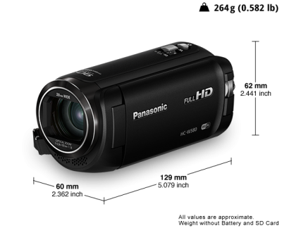 Panasonic Small twin camera for twice as much fun - HCW580K