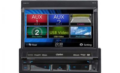 Clarion DVD MULTIMEDIA STATION WITH BUILT-IN NAVIGATION  NZ503