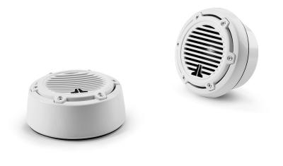 JL Audio 7.7-inch Tower Component System, White Classic Grilles M770-TCS-CG-WH (Pair)