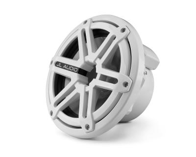 JL Audio 7.7-inch Tower Component System, White Sport Grilles M770-TCS-SG-WH