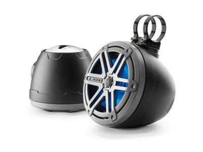 JL Audio 6.5-inch (165 mm) Enclosed Coaxial System, Titanium Sport Grilles -  PS650-VeX-SG-TMB-LDB (Pair)