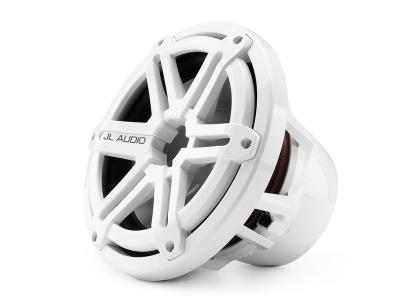 JL Audio 10-inch  Marine Subwoofer Driver, White Sport Grille, 4 Ω M10IB5-SG-WH