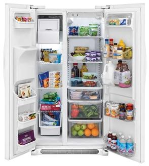 Frigidaire 22.1 Cu. Ft. Side-by-Side Refrigerator - FFSS2325TP