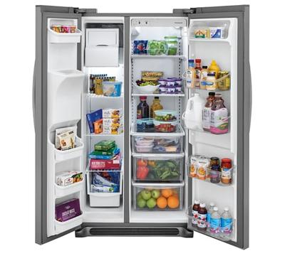 Frigidaire 25.6 Cu. Ft. Side-by-Side Refrigerator - FFSS2625TS