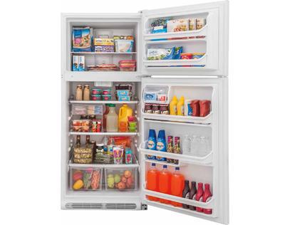 Frigidaire 20.4 Cu. Ft. Top Freezer Refrigerator - FFTR2021TW