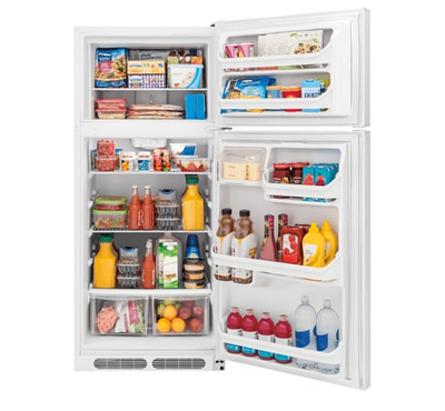 Frigidaire 16.3 Cu. Ft. Top Freezer Refrigerator - FFHT1614TW