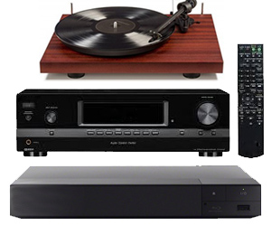 AV Receivers & Components